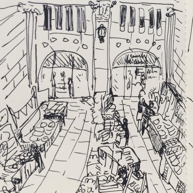 dibujito bazares