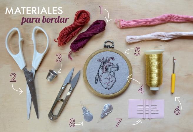 MATERIALES PARA BORDAR – Ponycats 98d5e8ad74d2a